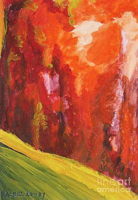 Art Print featuring the painting Landscape by Rachel Lowry