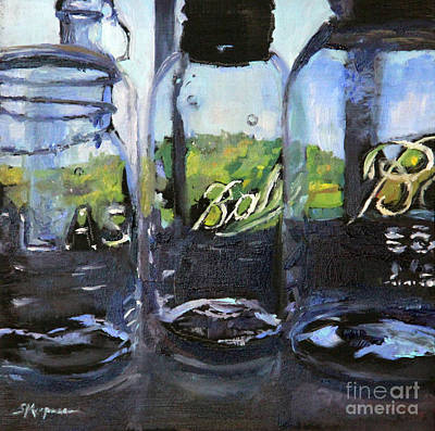 Painting - Landscape Through The Glass by Shelley Koopmann