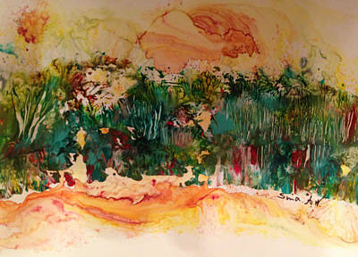 Painting - Landscape Twohundred by Sima Amid Wewetzer