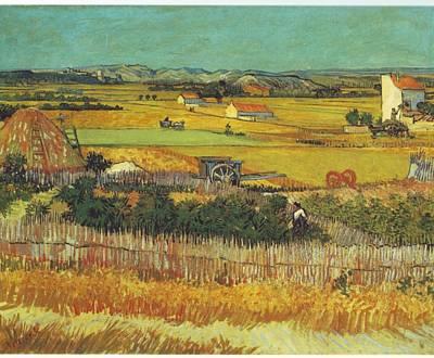 Impressionist Painting - Landscape by Vincent Van Gogh