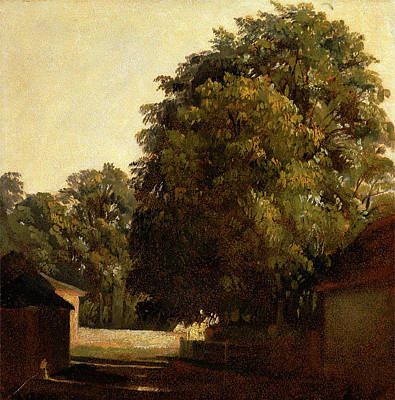 Landscape With Chestnut Tree, Peter Dewint Art Print by Litz Collection