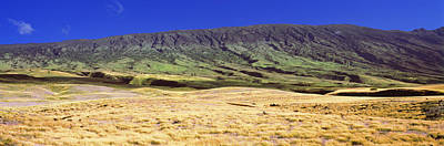 Landscape With Haleakala Volcanic Art Print by Panoramic Images