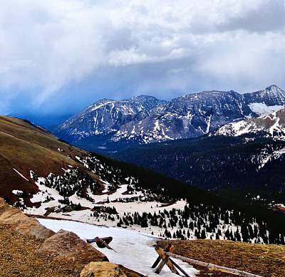 Lookout Point From Trail Ridge Road Art Print by Dan Sproul