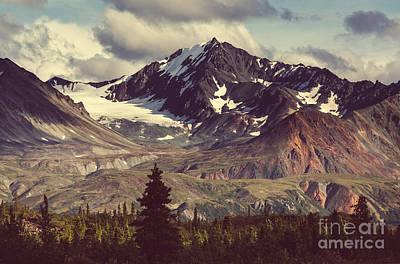 Fall Snow Wall Art - Photograph - Landscapes On Denali Highway.alaska by Galyna Andrushko