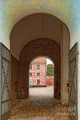 Landskrona Citadel Entrance Art Print by Antony McAulay