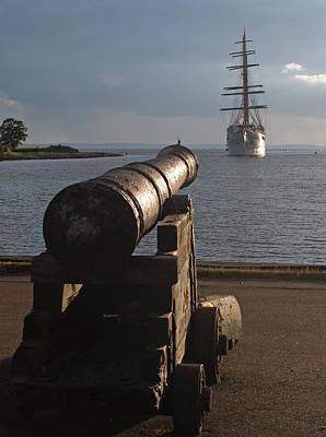 Photograph - Landskrona Se Sea Cloud II 02 by Jeff Brunton
