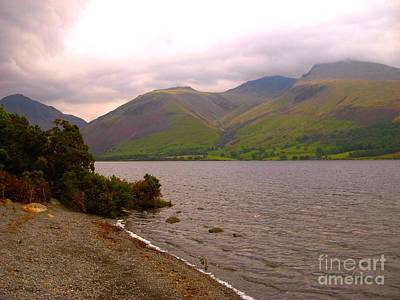Photograph - Langdale Pike At Wastwater Cumbria by Joan-Violet Stretch