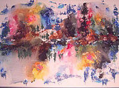 Premieres Painting - Langdonart 4seasonsinonevue2 by Artiste LangdonArt