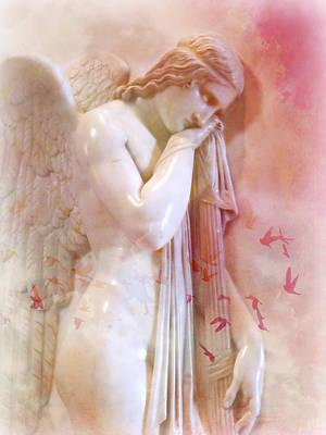 L'angelo Celeste Art Print