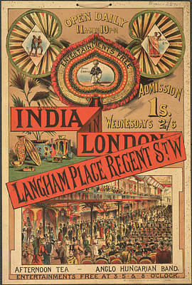 Langham Place Art Print by British Library