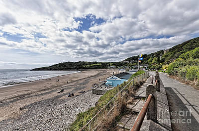 Photograph - Langland Bay Gower Swansea by Steve Purnell