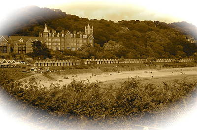 Langland Bay Gower Wales Art Print