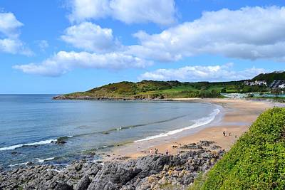 The Gower Photograph - Langland Bay by Paula J James