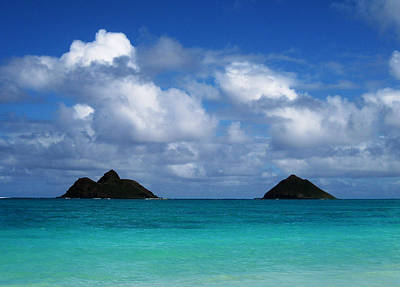 Photograph - Lanikai by Art Shimamura
