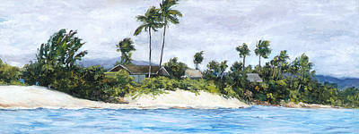 Haleiwa Painting - Lanikai by Stacy Vosberg