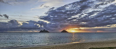 Lanikai Sunrise Art Print