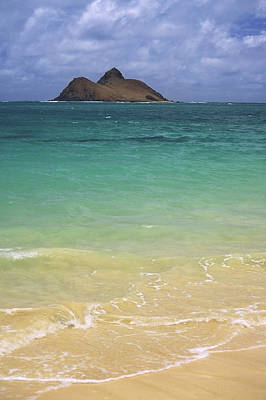 Photograph - Lanikai To Mokulua by Morris  McClung