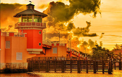 Photograph - Lantana Drawbridge 1 by Don Durfee