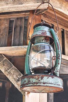 Blue Hues - Lantern by Aaron Spong