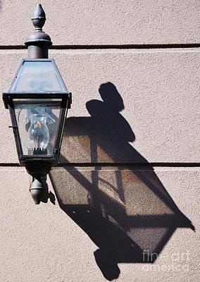 Lantern And Shadow New Orleans Art Print by Marcus Dagan