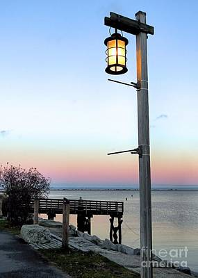 Photograph - Lantern At Dusk by Janice Drew