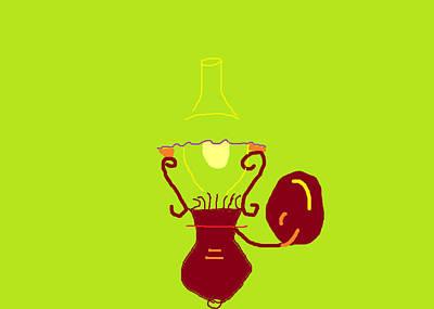 Painting - Lantern Lamp by Anita Dale Livaditis