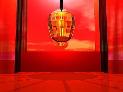 Digital Art - Lantern Light by John Pangia