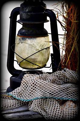 Photograph - Lantern N Clam Sack 1 by Sheri McLeroy