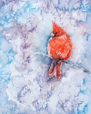 Painting - Lantern Of Winter by Zaira Dzhaubaeva