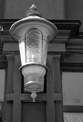 Photograph - Lantern Port Huron 5 Bw by Mary Bedy