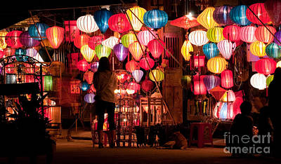 Photograph - Lantern Stall 01 by Rick Piper Photography