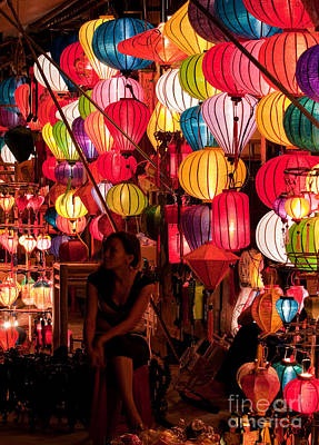 Photograph - Lantern Stall 02 by Rick Piper Photography