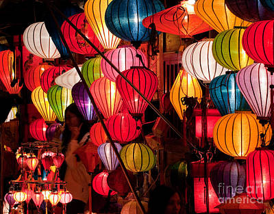 Photograph - Lantern Stall 03 by Rick Piper Photography