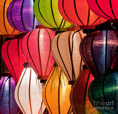 Photograph - Lantern Stall 05 by Rick Piper Photography