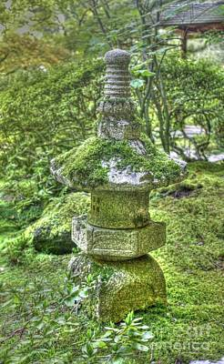 Photograph - Lantern With Moss by David Bearden