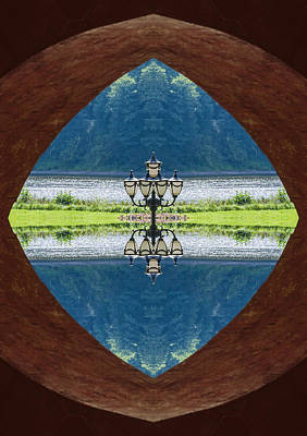 Mirror Mixed Media - Lantern by Yevgeni Kacnelson