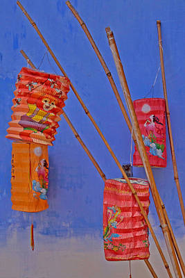 Photograph - Lanterns B Penang.jpg by Tony Brown