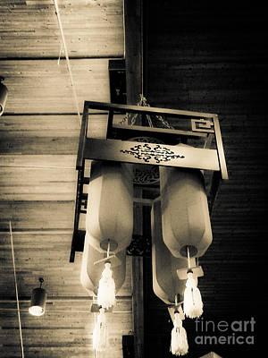 Photograph - Lanterns by Fei Alexander