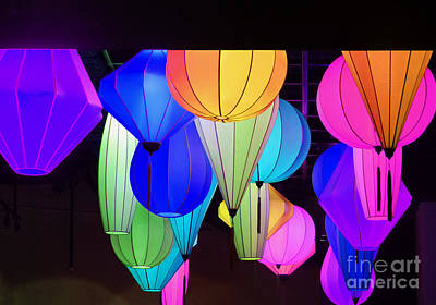 Photograph - Lanterns by Marguerita Tan