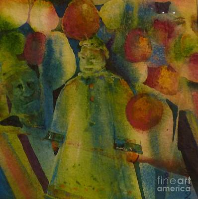 Painting - Lanterns Overhead by Donna Acheson-Juillet