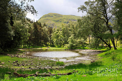 Britain Photograph - Lanty's Tarn In The Lake District Cumbria by Louise Heusinkveld