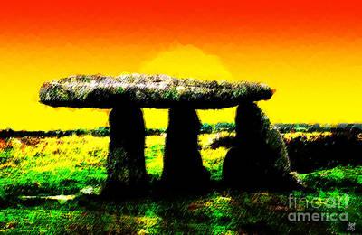 Midsummer Eve Digital Art - Lanyon Quoit by Neil Finnemore