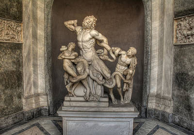 Photograph - Laocoon And His Sons by Michael Kirk