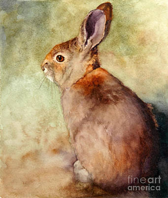 Lapin Art Print by Bonnie Rinier
