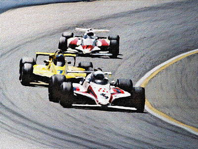Mixed Media - Laps by Dennis Buckman
