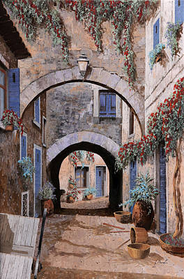 Double Painting - L'arco Del Diavolo by Guido Borelli