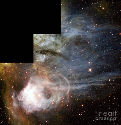 Large Magellanic Cloud N44c Art Print