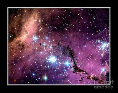 Photograph - Large Magellanic Cloud Nasa by Rose Santuci-Sofranko