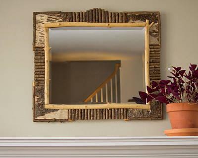 Large Mantle Mirror Original