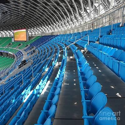 Large Modern Sports Facility Print by Yali Shi